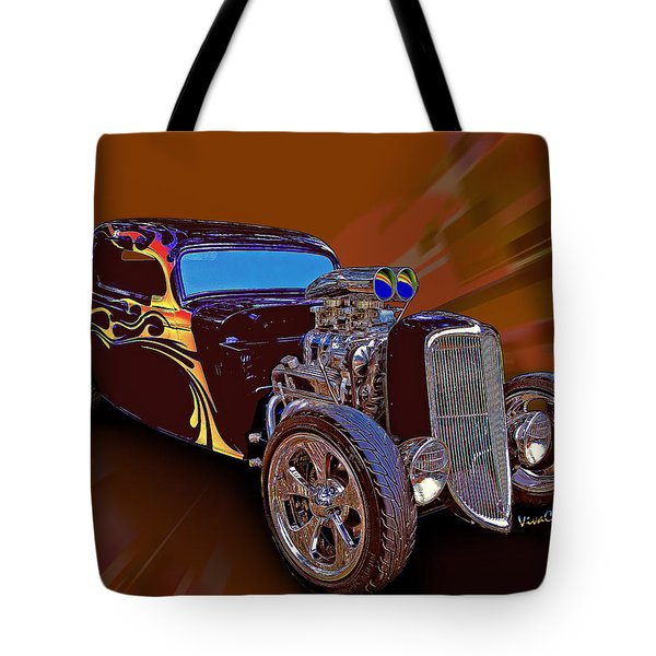 Street Rod What Is It Tote Bag