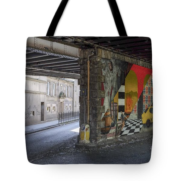 Street Scene - Edinburgh Tote Bag