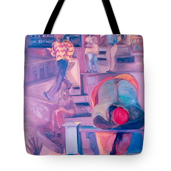 Street Scenes Tote Bag by Daun Soden-Greene