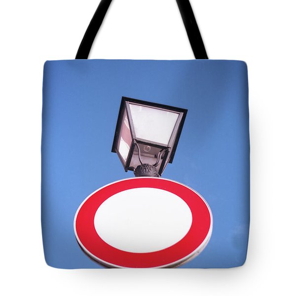 Street Sign Tote Bag