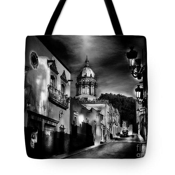 Street To The Nun's Church Tote Bag