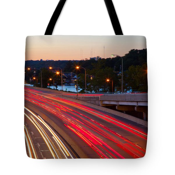 Street Trails Tote Bag