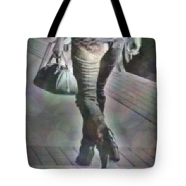 Street Walkin' Tote Bag