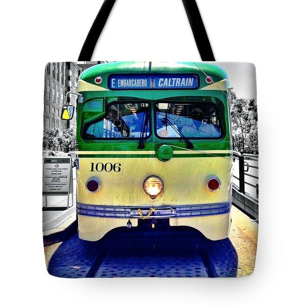 Streetcar Tote Bag