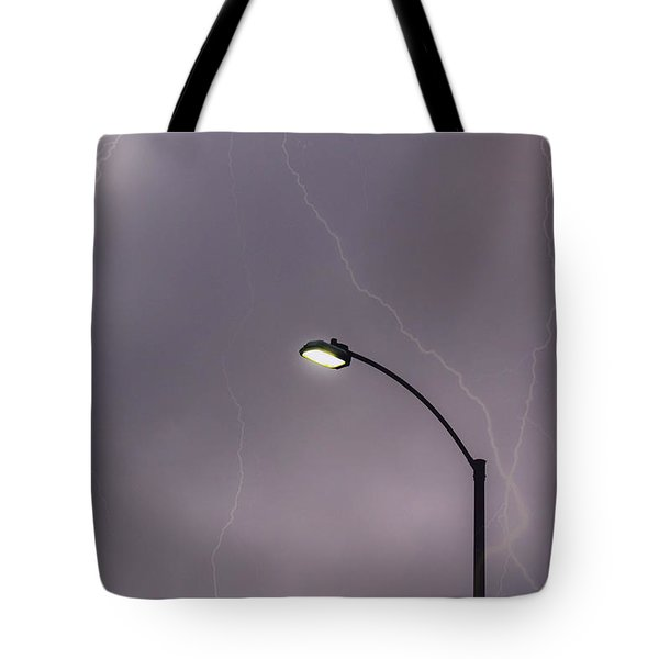 Streetlight Tote Bag