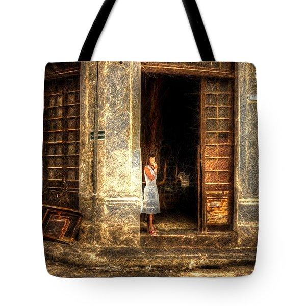 Streets Of Cuba Tote Bag