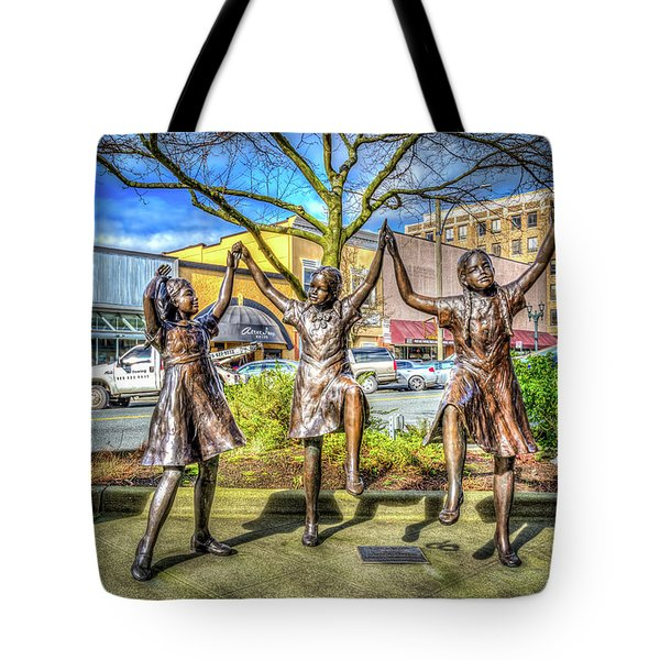Streets Of Everett Tote Bag
