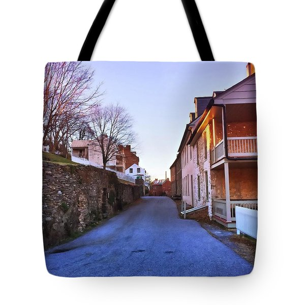 Streets Of Harpers Ferry Tote Bag