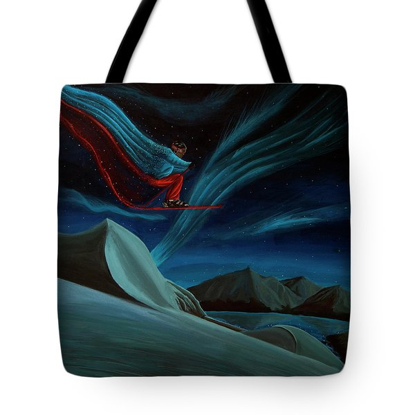 Streets Of Immortality Tote Bag