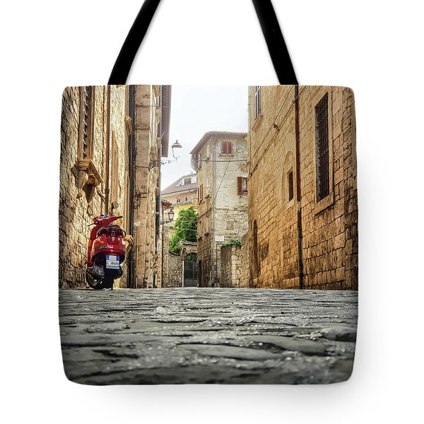 Streets Of Italy Tote Bag