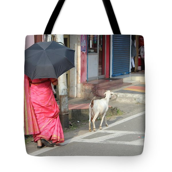 Streets Of Kochi Tote Bag