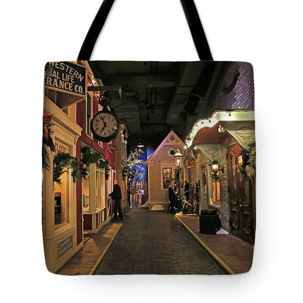 Streets Of Old Milwaukee Tote Bag