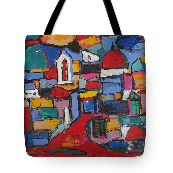 Streets Of Rome 01 Tote Bag