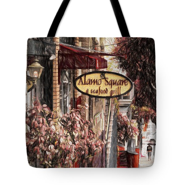Streets Of San Fran Tote Bag