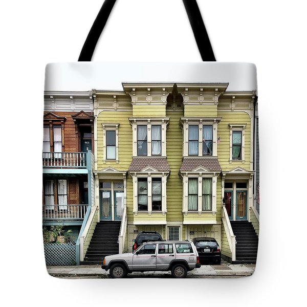 Streets Of San Francisco Tote Bag by Julie Gebhardt