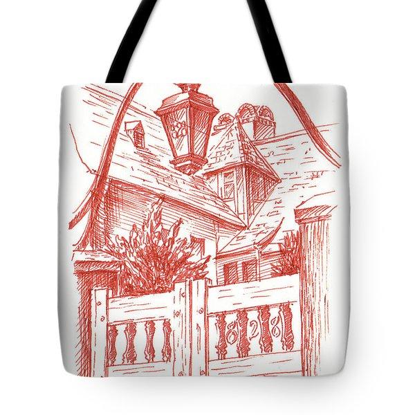 Streets Of San Francisco Russian Hill Tote Bag