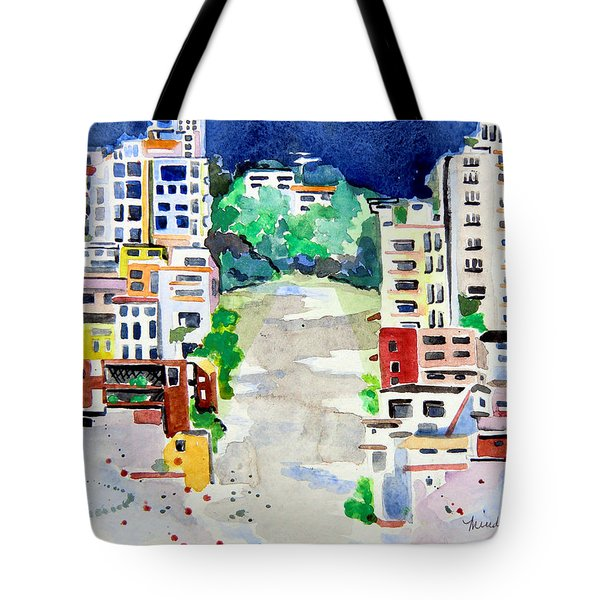 Streets Of San Francsico Tote Bag
