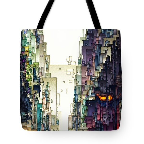 Streetscape 1 Tote Bag