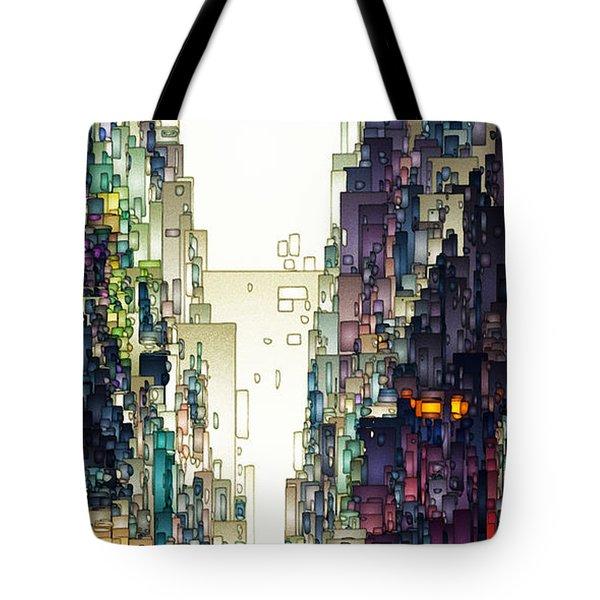 Streetscape 1 Tote Bag