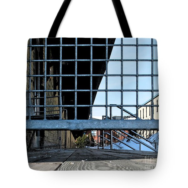 Streetscape 3 Housing Tote Bag