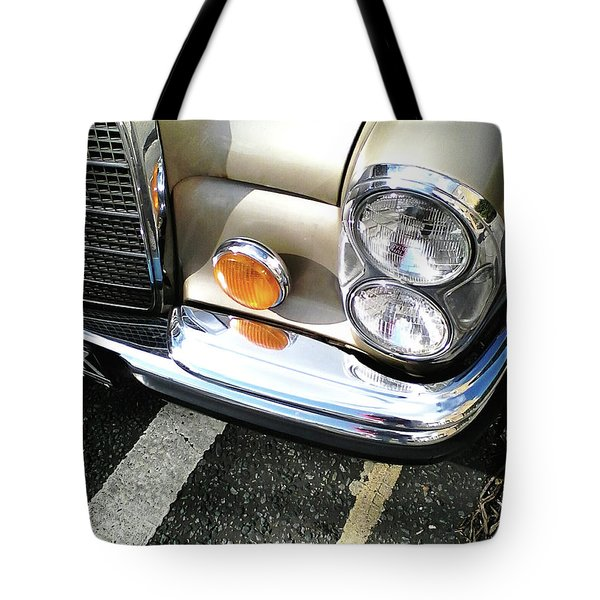 Tote Bag featuring the photograph Streetwise Glamour by Rebecca Harman