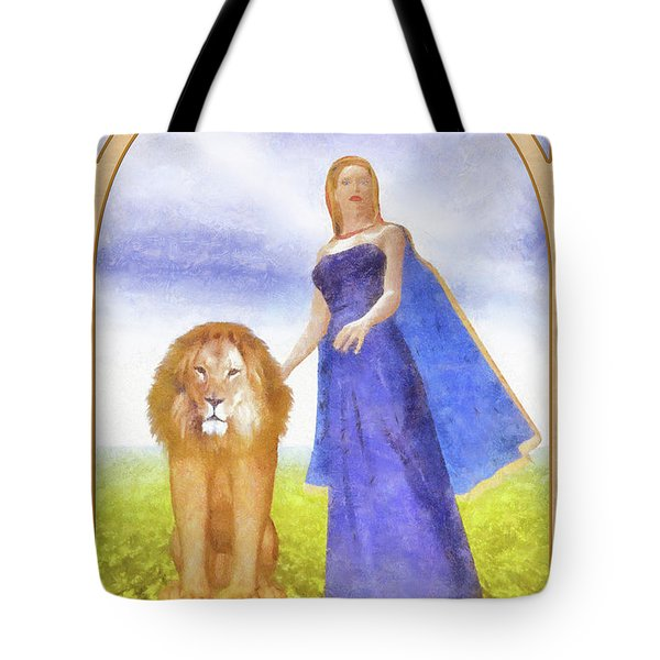 Strength Tote Bag by John Edwards