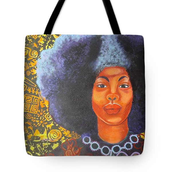 Strength Of Heart Tote Bag