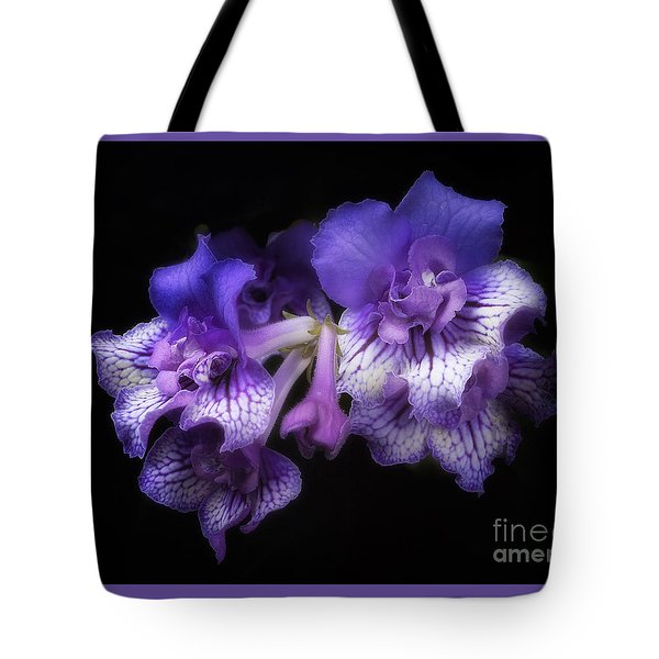 Streptocarpus 'blue Frills' Tote Bag