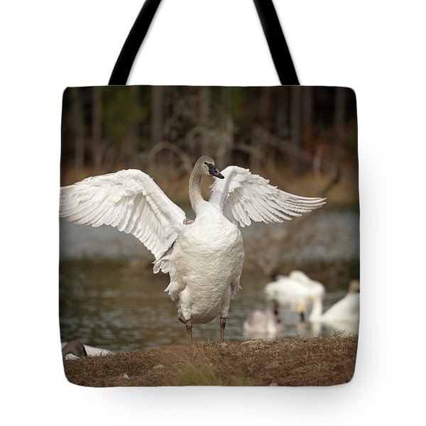 Stretch Your Wings Tote Bag