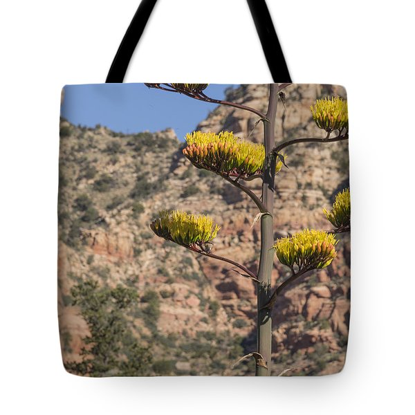 Stretching Tall Tote Bag