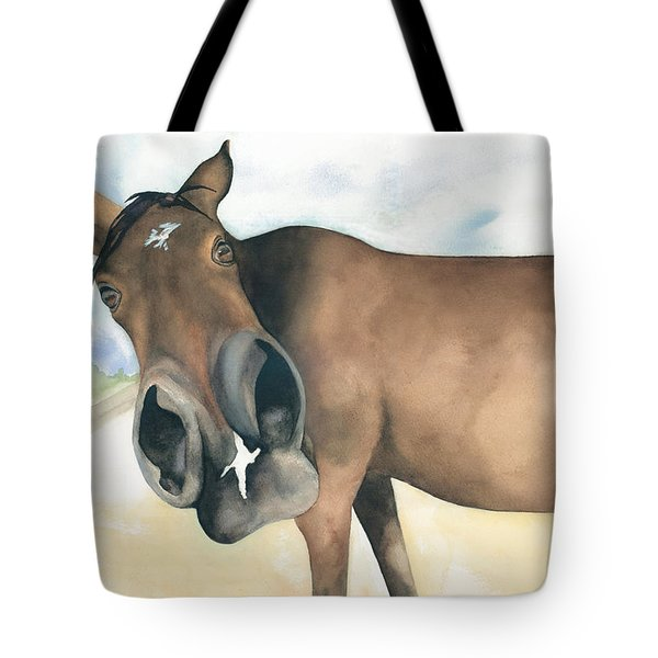 Stretch...your Perspective Tote Bag by Kimberly Lavelle