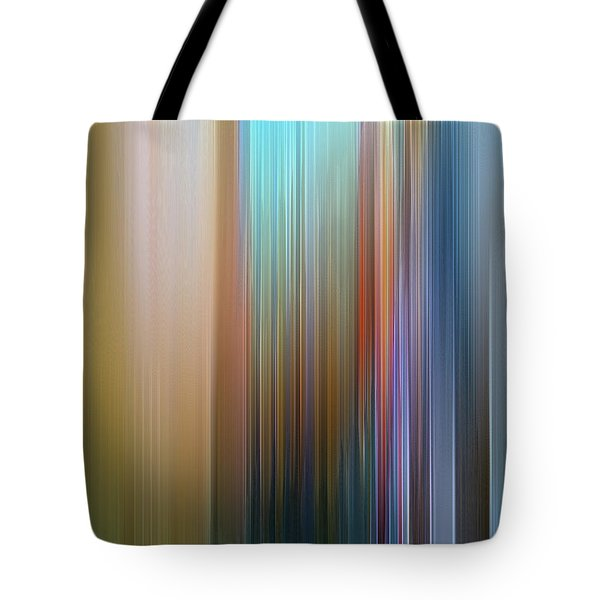 Tote Bag featuring the digital art Stria Mediterranean by Gina Harrison
