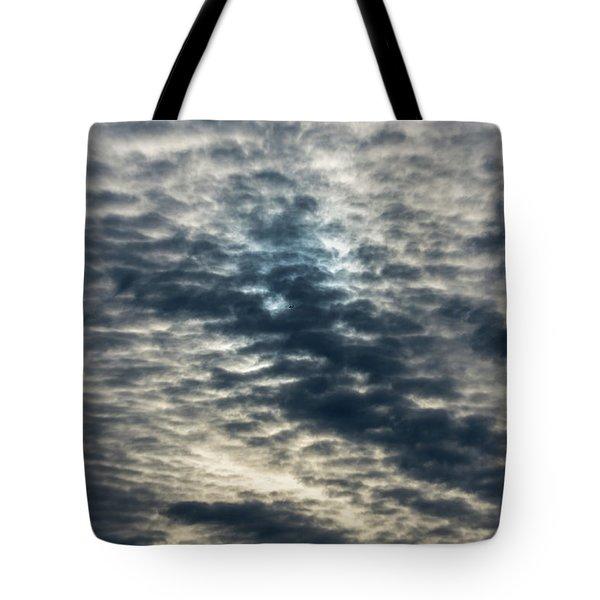 Striated Clouds Tote Bag