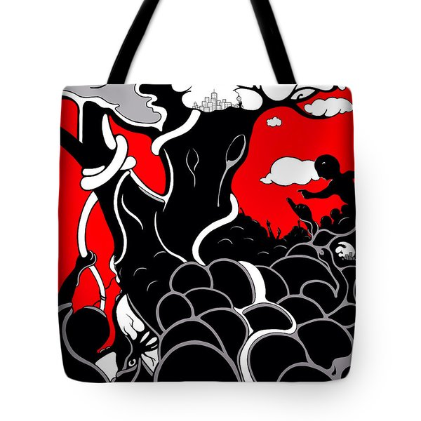 Strife Tote Bag