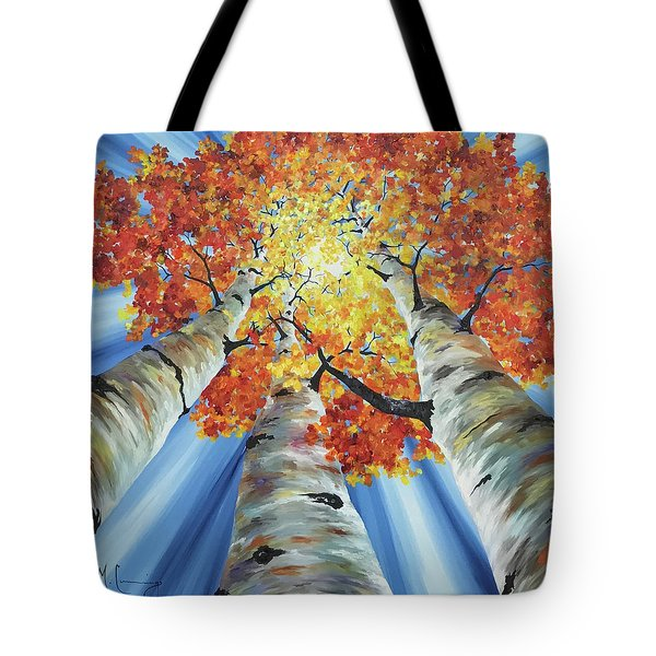 Striking Fall Tote Bag