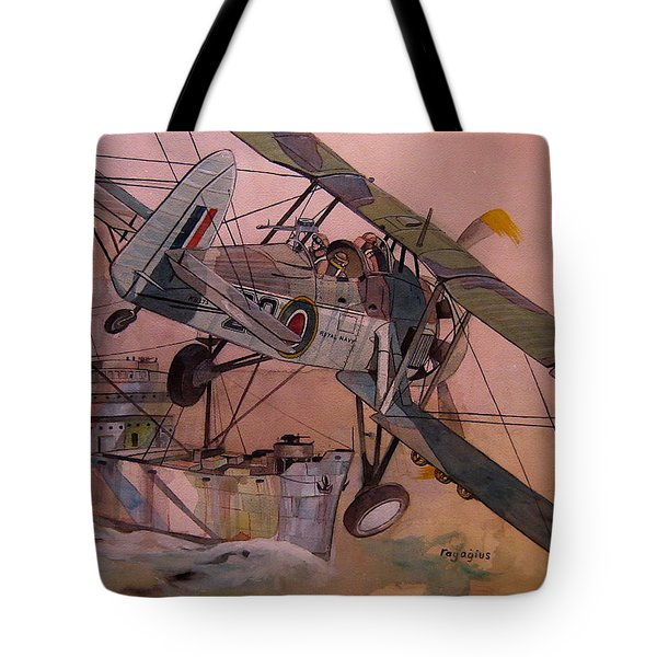 String Bag. Tote Bag by Ray Agius