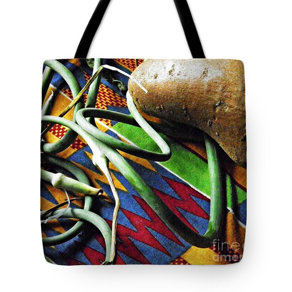 String Beans And Yam Tote Bag by Sarah Loft