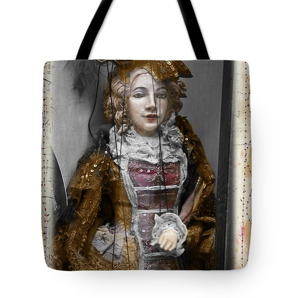 String Lady Tote Bag