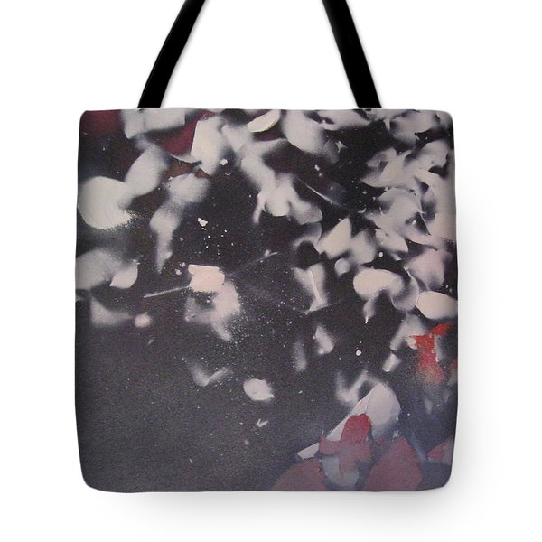 String Theory - Colored Leaves Tote Bag