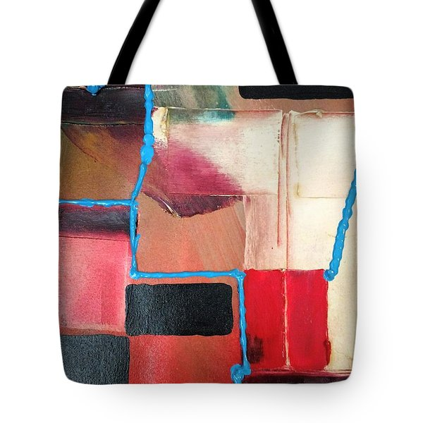 String Theory Abstraction Tote Bag