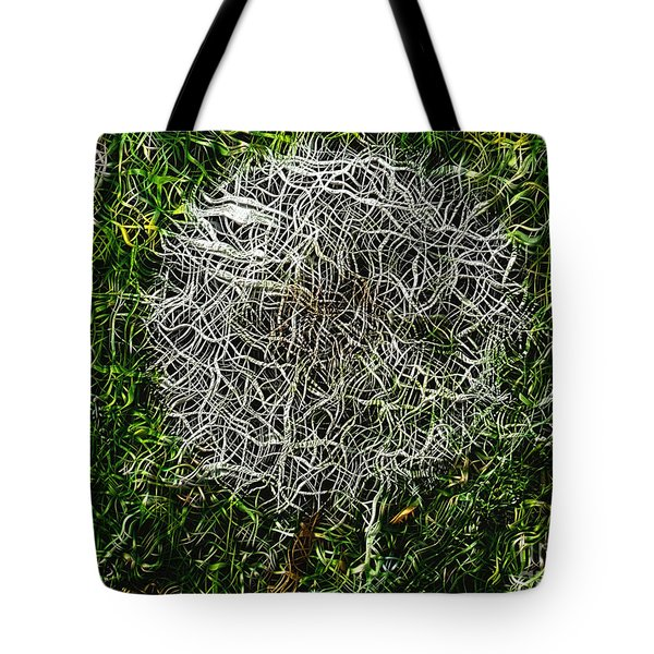 String Theory Dandelion Tote Bag
