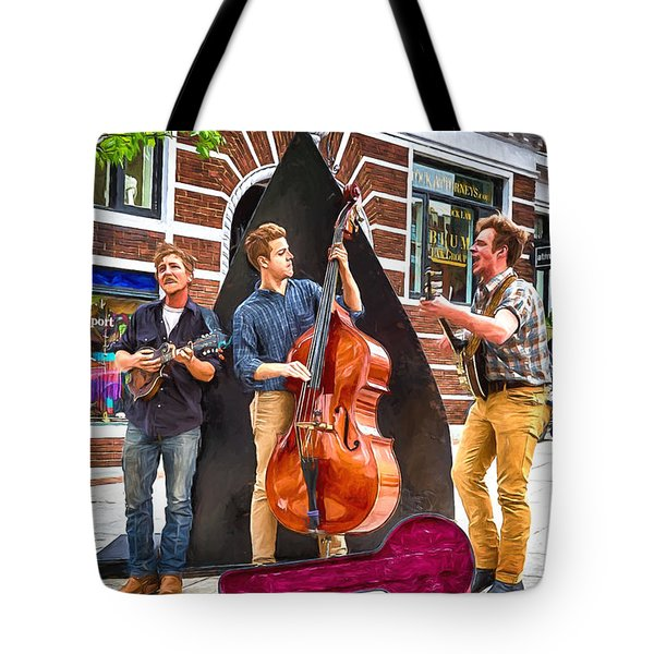 String Trio Tote Bag