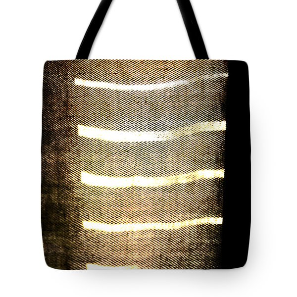 Tote Bag featuring the photograph Stripes And Texture by Todd Blanchard