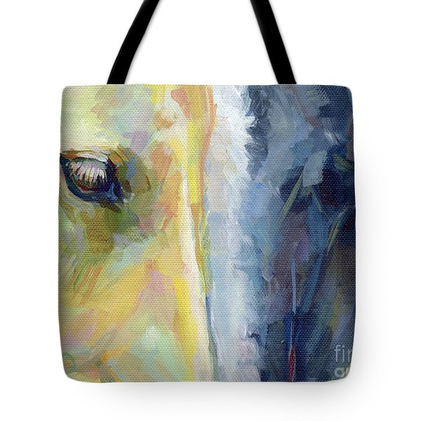 Stripes Tote Bag by Kimberly Santini