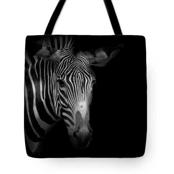 Stripes Number 5 Tote Bag