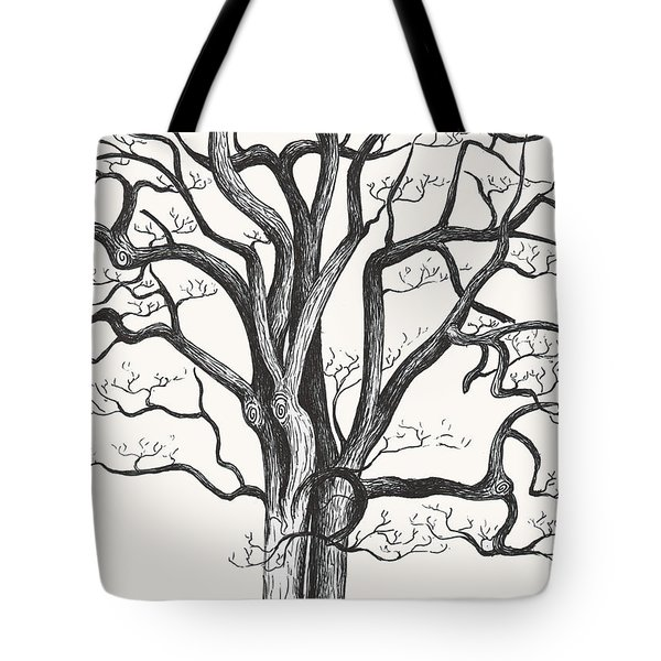 Stripped Bare Tote Bag by Melinda Dare Benfield