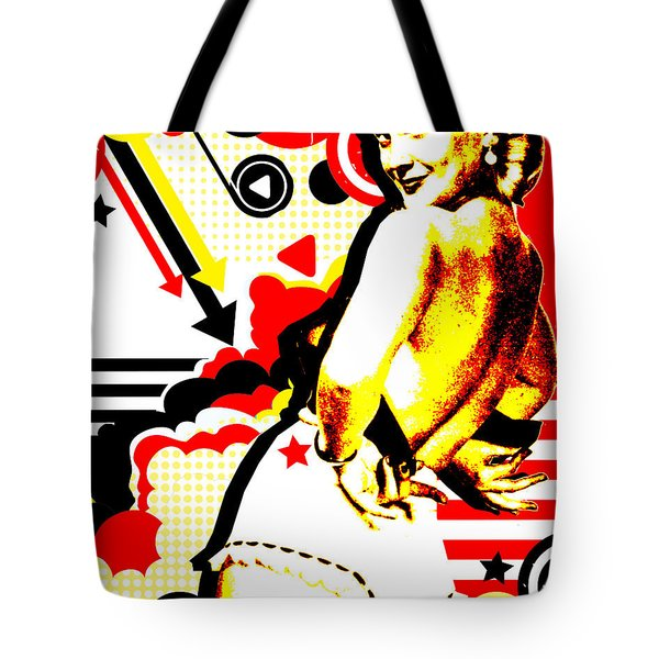 Striptease Tote Bag by Chris Andruskiewicz