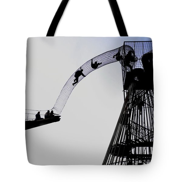 Tote Bag featuring the photograph Striving by David Coblitz
