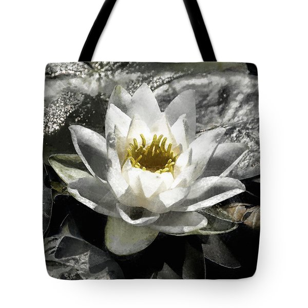 Strokes Of The Lily Tote Bag
