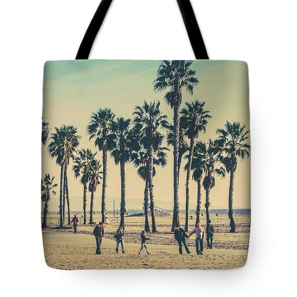 Stroll Down Venice Beach Tote Bag
